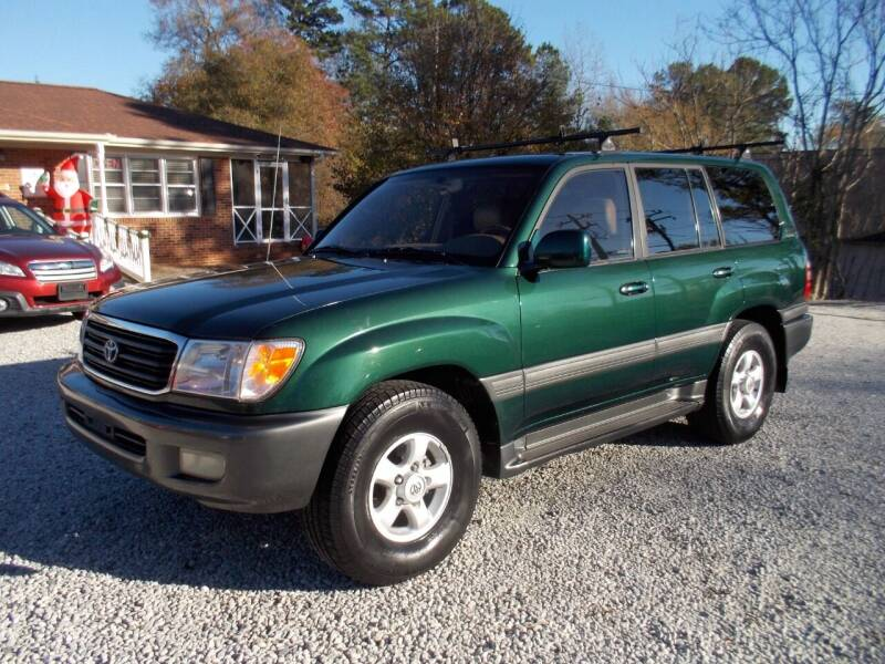 2000 Toyota Land Cruiser for sale at Carolina Auto Connection & Motorsports in Spartanburg SC