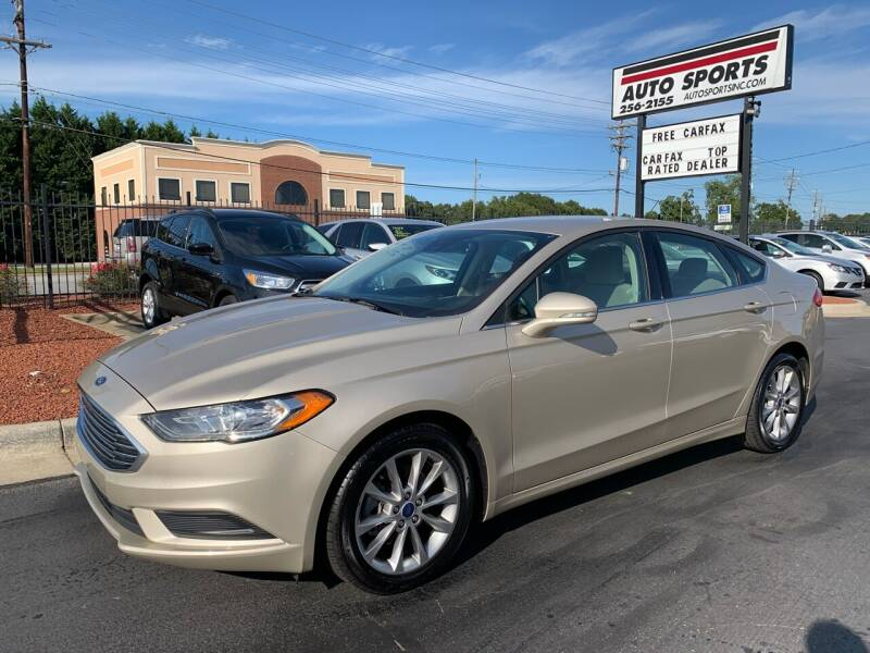 2017 Ford Fusion for sale at Auto Sports in Hickory NC