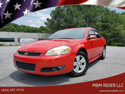 2010 Chevrolet Impala for sale at MBM Rider LLC in Alpharetta GA