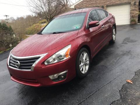 2014 Nissan Altima for sale at MG Auto Sales in Pittsburgh PA