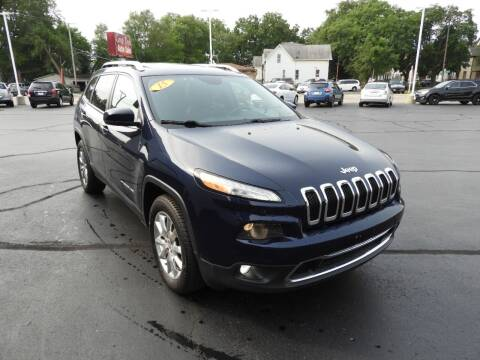 2015 Jeep Cherokee for sale at Grant Park Auto Sales in Rockford IL