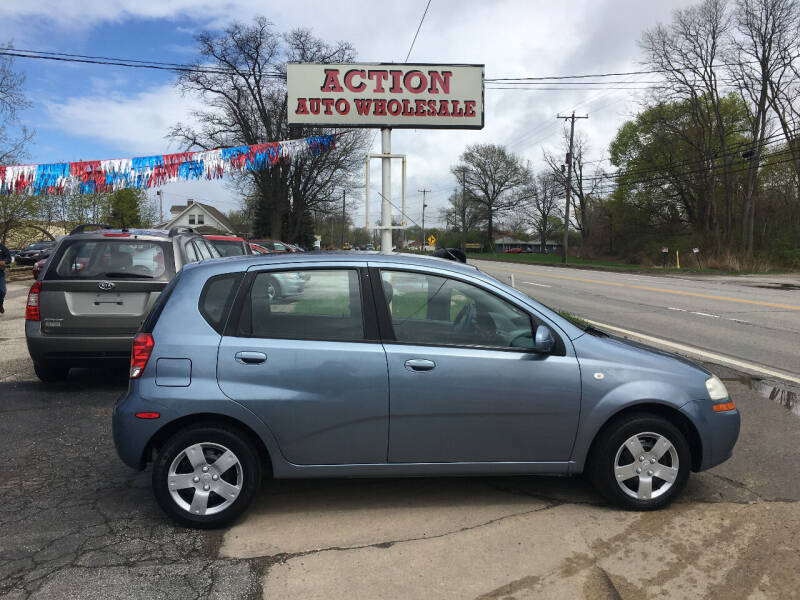 2006 Chevrolet Aveo for sale at Action Auto Wholesale in Painesville OH