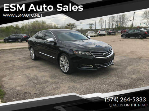 2015 Chevrolet Impala for sale at ESM Auto Sales in Elkhart IN