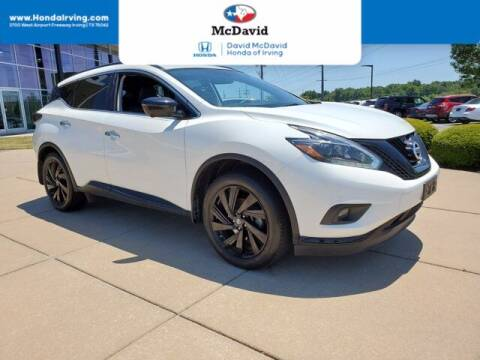 2018 Nissan Murano for sale at DAVID McDAVID HONDA OF IRVING in Irving TX