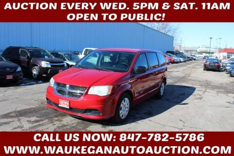 2014 Dodge Grand Caravan for sale at Waukegan Auto Auction in Waukegan IL