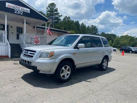 2006 Honda Pilot for sale at CVC AUTO SALES in Durham NC