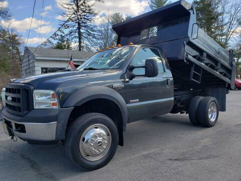 2007 Ford F-550 Super Duty for sale at A-1 Auto in Pepperell MA