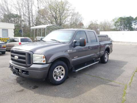 2005 Ford F-250 Super Duty for sale at Prospect Motors LLC in Adamsville AL