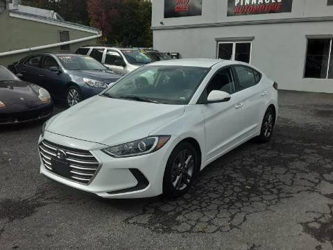 2018 Hyundai Elantra for sale at Pinnacle Automotive Group in Roselle NJ
