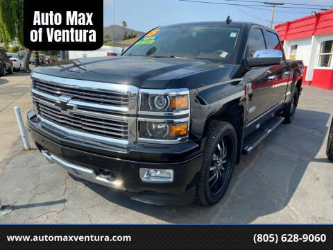 2015 Chevrolet Silverado 1500 for sale at Auto Max of Ventura in Ventura CA