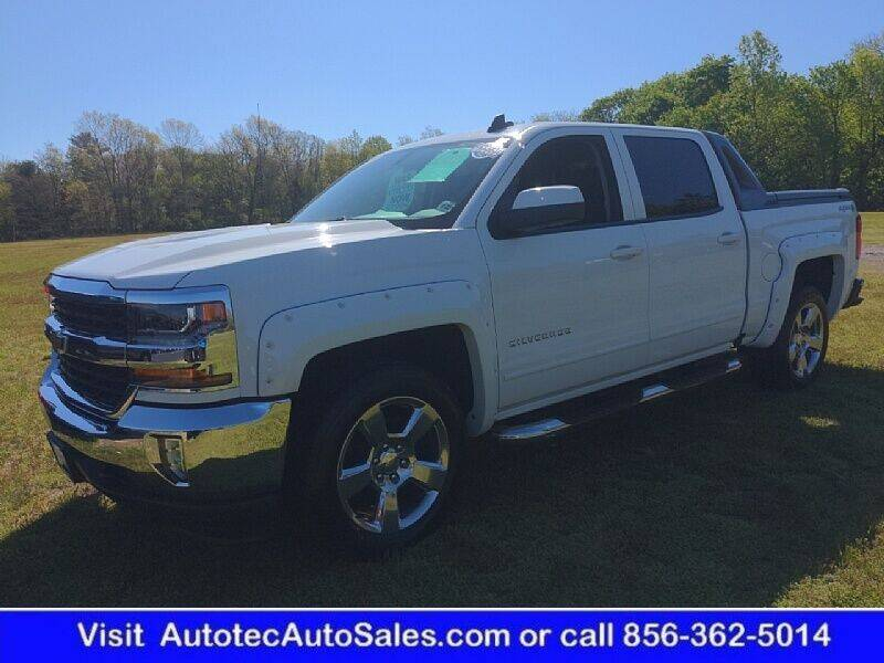 2017 Chevrolet Silverado 1500 for sale at Autotec Auto Sales in Vineland NJ