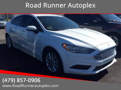 2017 Ford Fusion for sale at Road Runner Autoplex in Russellville AR
