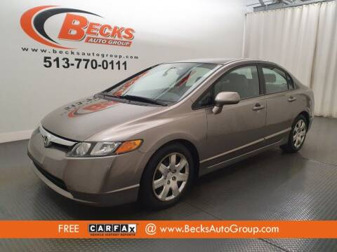 2006 Honda Civic for sale at Becks Auto Group in Mason OH