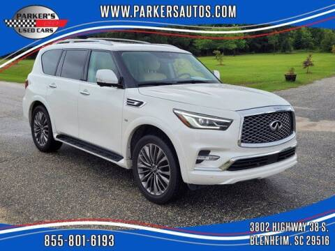 2018 Infiniti QX80 for sale at Parker's Used Cars in Blenheim SC