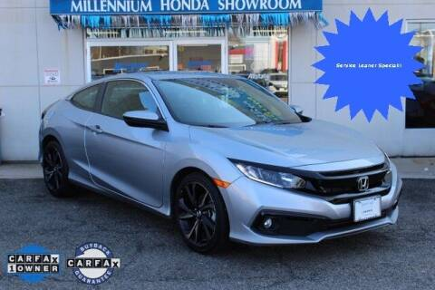 2019 Honda Civic for sale at MILLENNIUM HONDA in Hempstead NY