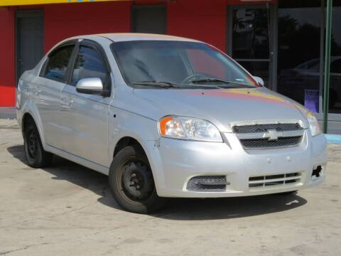 2008 Chevrolet Aveo for sale at DK Auto Sales in Hollywood FL