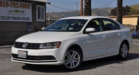 2018 Volkswagen Jetta for sale at AMC Auto Sales, Inc. in Fremont CA