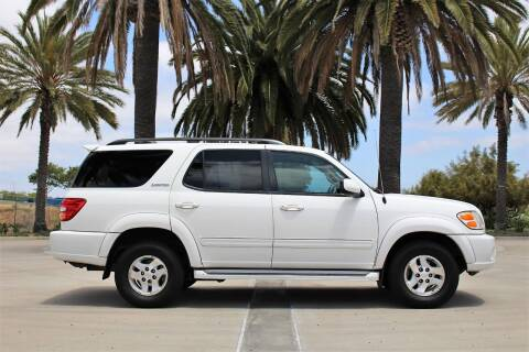 2001 Toyota Sequoia for sale at Miramar Sport Cars in San Diego CA