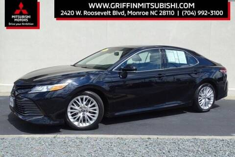 2018 Toyota Camry for sale at Griffin Mitsubishi in Monroe NC