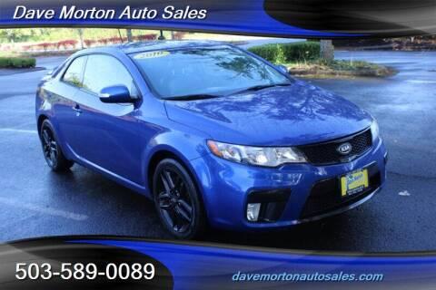 2010 Kia Forte Koup for sale at Dave Morton Auto Sales in Salem OR