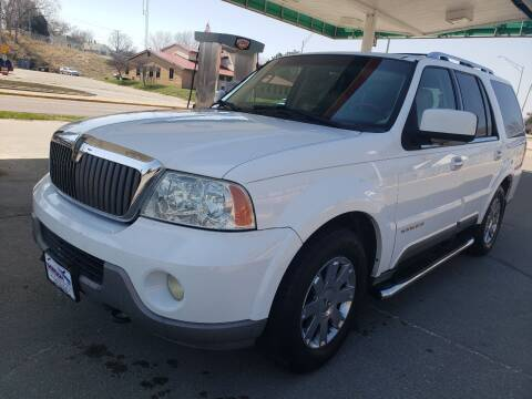 2004 Lincoln Navigator for sale at Gordon Auto Sales LLC in Sioux City IA