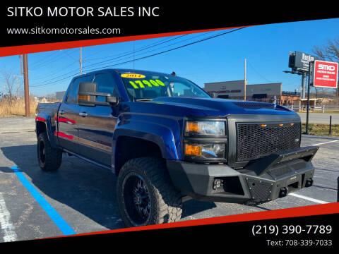 2014 Chevrolet Silverado 1500 for sale at SITKO MOTOR SALES INC in Cedar Lake IN
