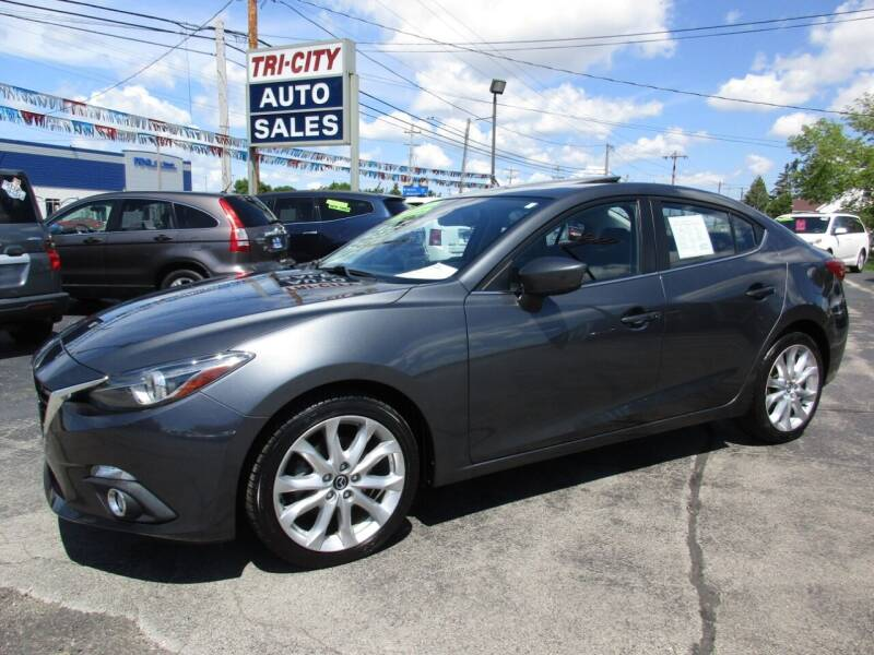 2014 Mazda MAZDA3 for sale at TRI CITY AUTO SALES LLC in Menasha WI