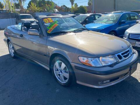 2003 Saab 9-3 for sale at North County Auto in Oceanside CA