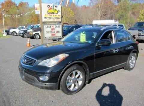 2008 Infiniti EX35 for sale at K & R Auto Sales,Inc in Quakertown PA