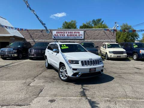 2014 Jeep Grand Cherokee for sale at Brothers Auto Group in Youngstown OH