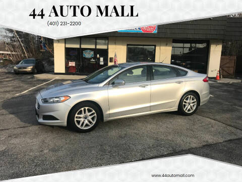 2016 Ford Fusion for sale at 44 Auto Mall in Smithfield RI