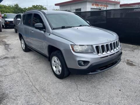 2014 Jeep Compass for sale at Alma Car Sales in Miami FL