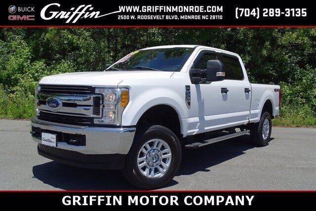 2017 Ford F-250 Super Duty for sale at Griffin Buick GMC in Monroe NC