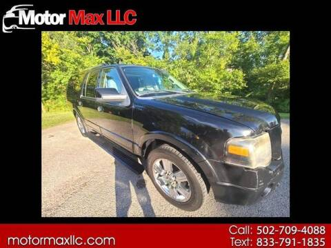 2009 Ford Expedition EL for sale at Motor Max Llc in Louisville KY