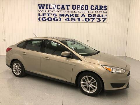 2016 Ford Focus for sale at Wildcat Used Cars in Somerset KY