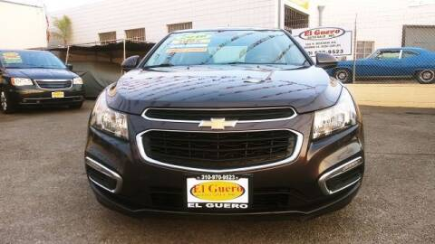 2016 Chevrolet Cruze Limited for sale at El Guero Auto Sale in Hawthorne CA