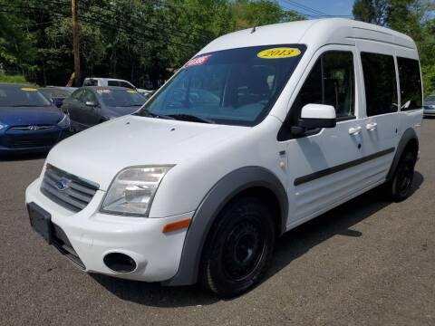 2013 Ford Transit Connect for sale at CENTRAL AUTO GROUP in Raritan NJ
