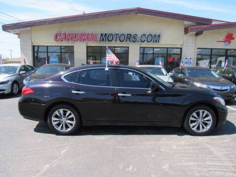 2013 Infiniti M37 for sale at Cardinal Motors in Fairfield OH