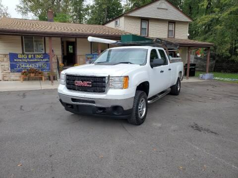 2011 GMC Sierra 2500HD for sale at BIG #1 INC in Brownstown MI