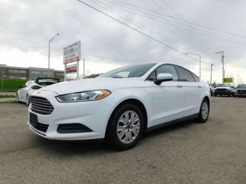 2013 Ford Fusion for sale at AutoLink LLC in Dayton OH