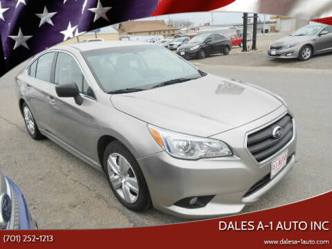 2015 Subaru Legacy for sale at Dales A-1 Auto Inc in Jamestown ND