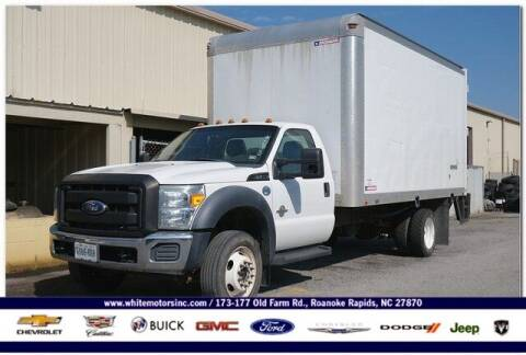 2012 Ford F-550 Super Duty for sale at WHITE MOTORS INC in Roanoke Rapids NC