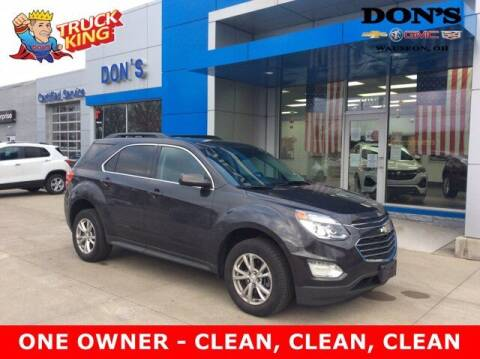 2016 Chevrolet Equinox for sale at DON'S CHEVY, BUICK-GMC & CADILLAC in Wauseon OH
