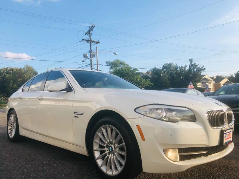2011 BMW 5 Series for sale at Trimax Auto Group in Norfolk VA