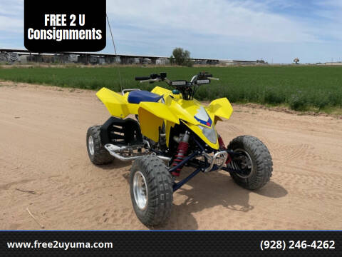 2006 Suzuki LTZ 450r for sale at FREE 2 U Consignments in Yuma AZ