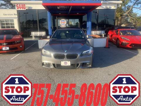 2011 BMW 5 Series for sale at 1 Stop Auto in Norfolk VA