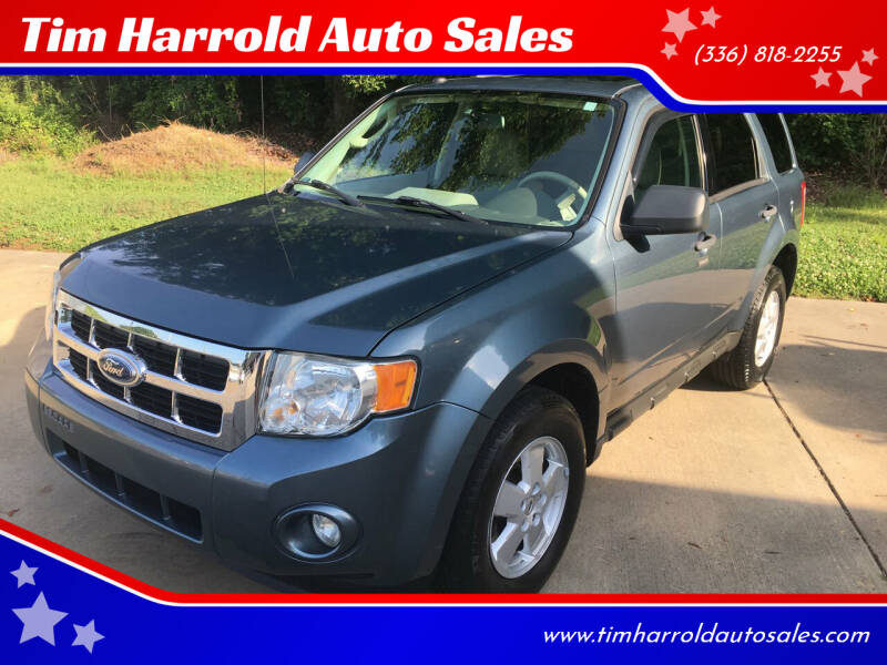 2012 Ford Escape for sale at Tim Harrold Auto Sales in Wilkesboro NC
