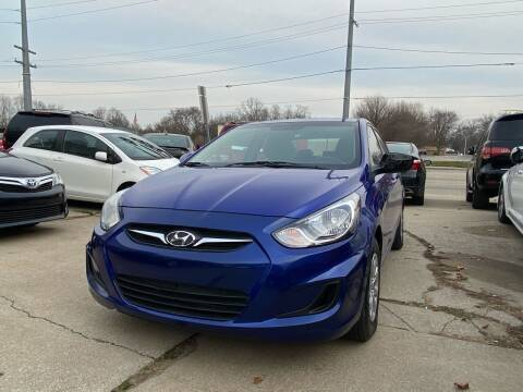 2012 Hyundai Accent for sale at 3M AUTO GROUP in Elkhart IN
