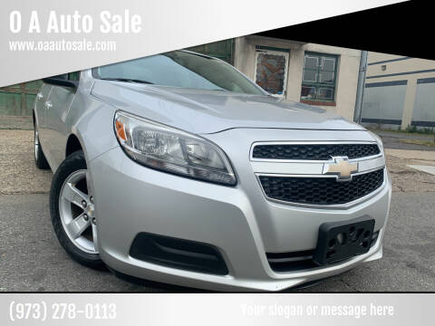 2013 Chevrolet Malibu for sale at O A Auto Sale in Paterson NJ