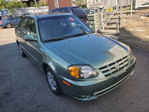 2004 Hyundai Accent for sale at Fortier's Auto Sales & Svc in Fall River MA